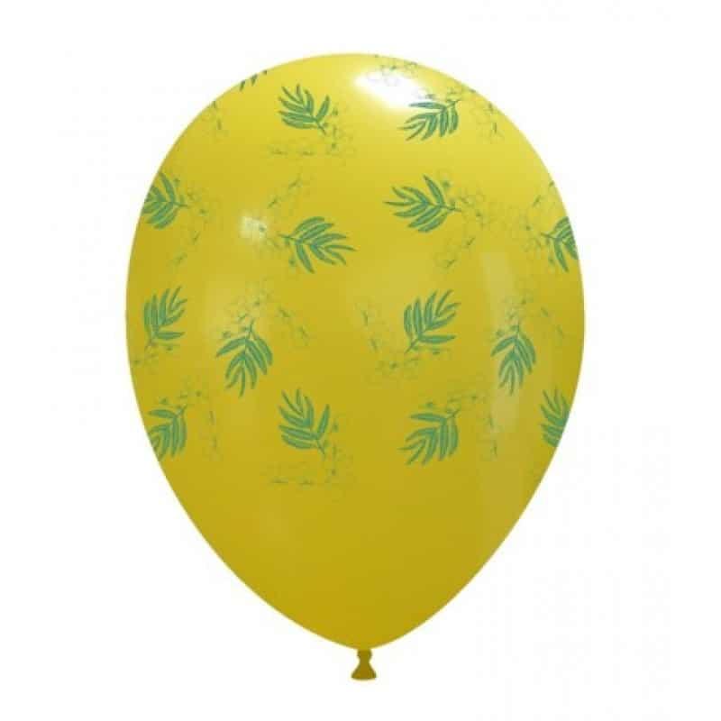Palloncini stampa globo - mimosa