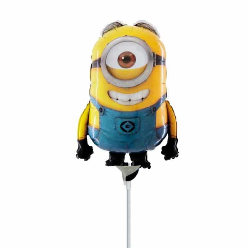 "Palloncini mylar Personaggi Minion Stuart MiniShape(14"")"