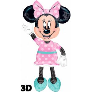 "Palloncini Air Walker Minnie Mouse Airwalker (54"")"