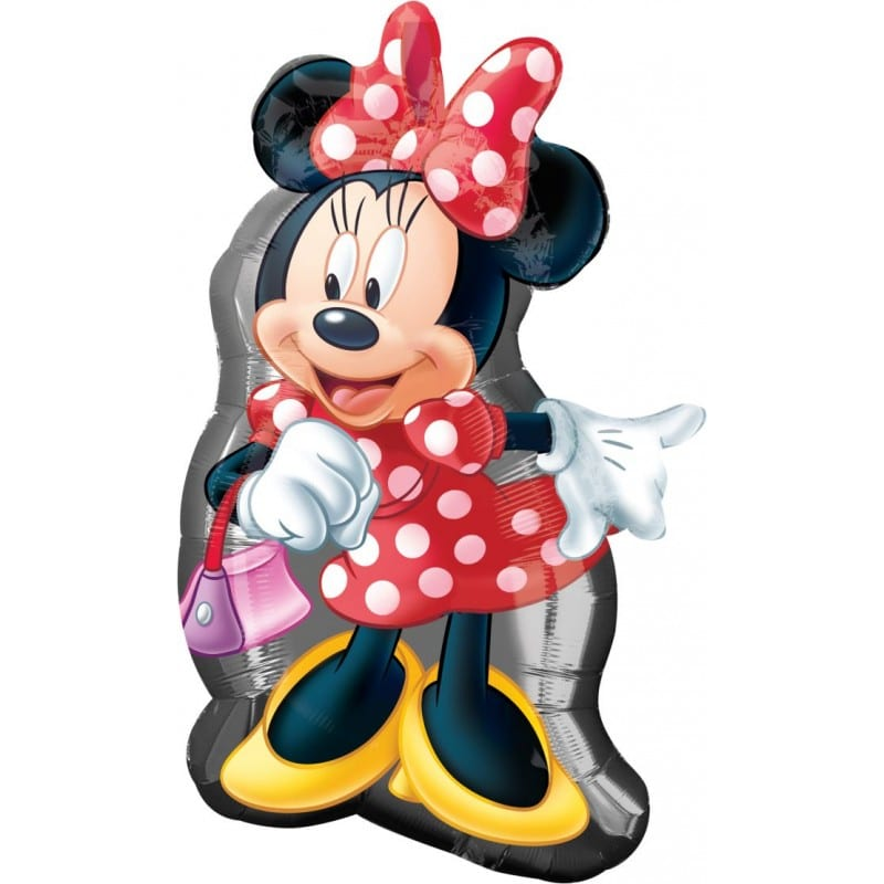 "Palloncini mylar Personaggi Minnie Mouse Supershape (31"")"