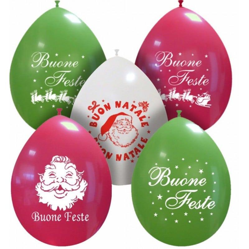 Palloncini natalizi - mix di natale (un colore)