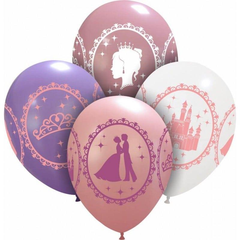 Palloncini stampa globo - mix principesse