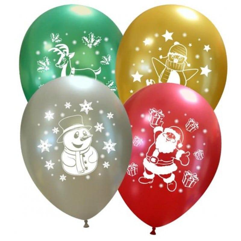 Palloncini natalizi - natale carino
