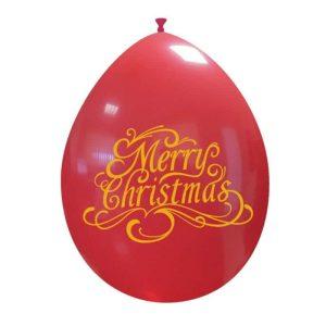 Palloncini natalizi - natale oro