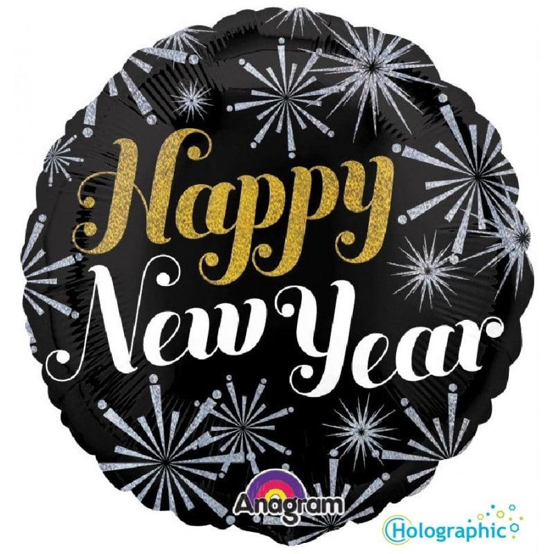 """Palloncini natalizi - new year pizazz (18"""")"""