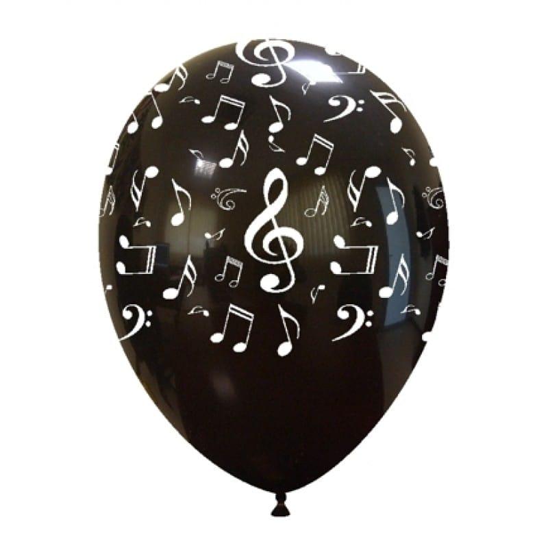 Palloncini stampa globo - note musicali