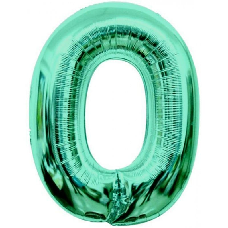Palloncini numeri maxi - Numero 0