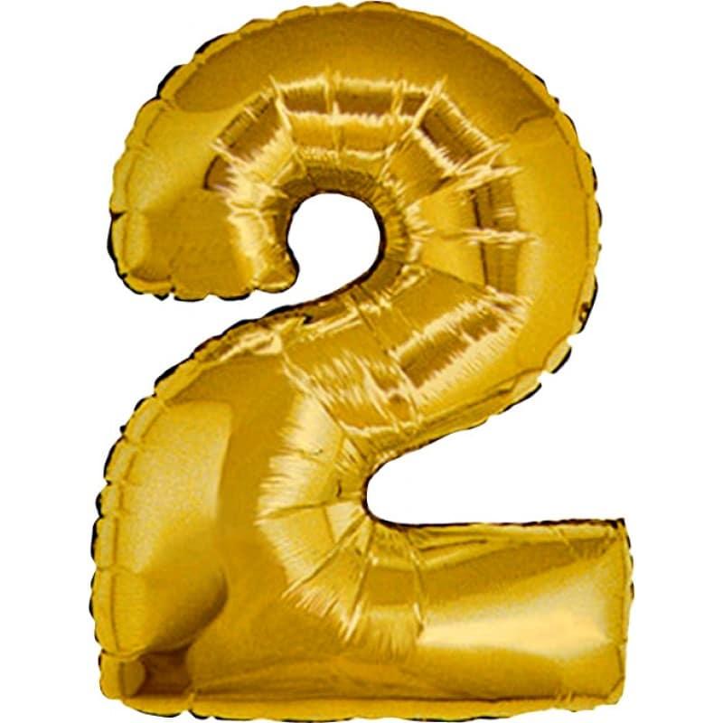 Palloncini numeri maxi - Numero 2