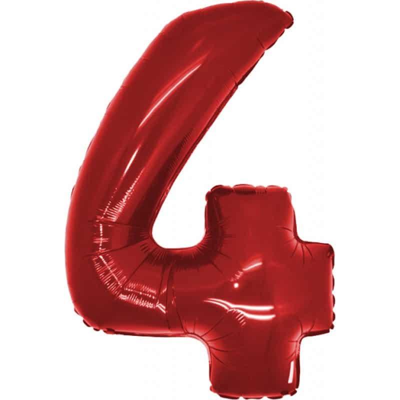 Palloncini numeri maxi - Numero 4