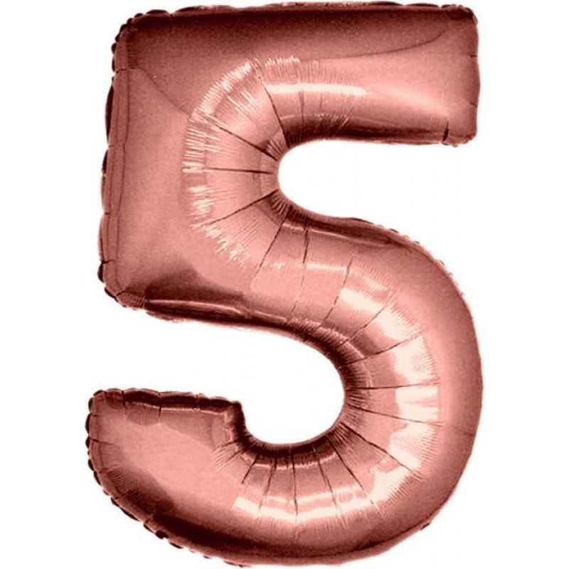 Palloncini numeri maxi - Numero 5
