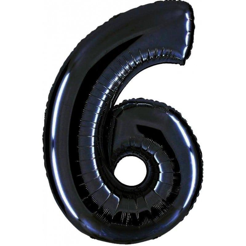 Palloncini numeri maxi - Numero 6