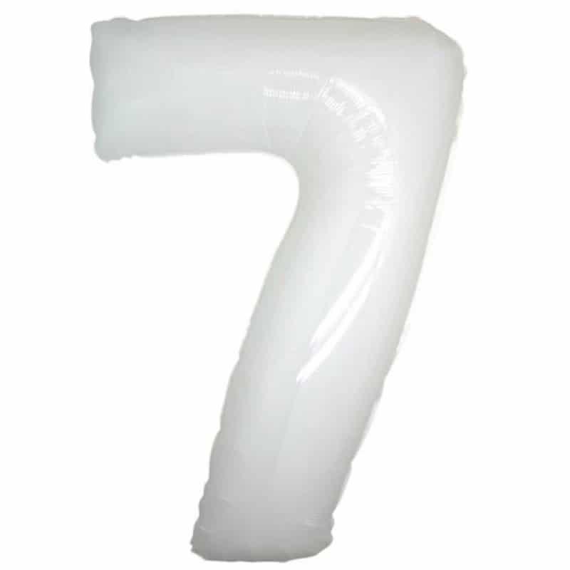 Palloncini numeri maxi - Numero 7