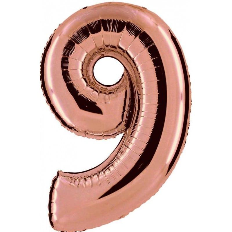 Palloncini numeri maxi - Numero 9