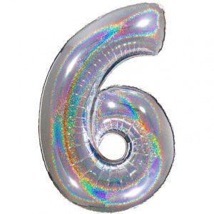 Numeri Maxi Glitter 100 cm
