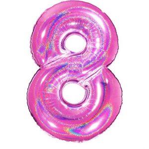Palloncini numeri maxi - Numero 8