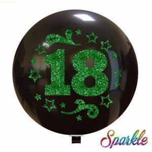 Palloncini Compleanno - Numero 18 (Sparkle)