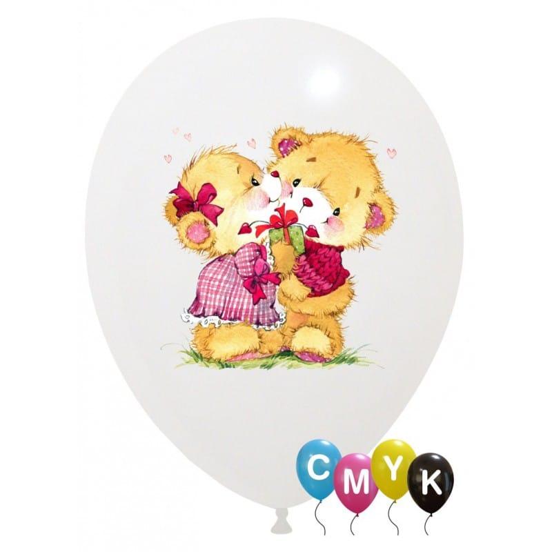 Palloncini amore - orsetti innamorati - full color (cmyk)