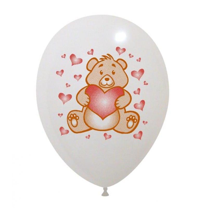 Palloncini amore - orsetto love 2 colori