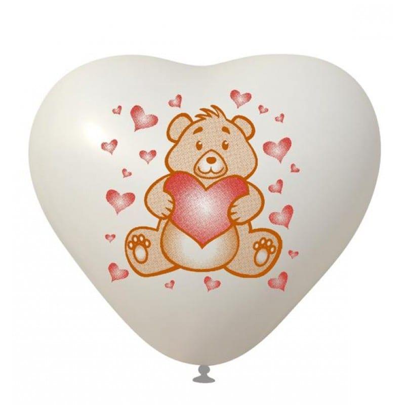 Palloncini amore - orsetto love