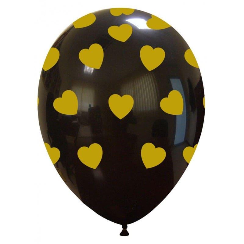 Palloncini love Cuori Grandi Oro (Edizione Limitata)