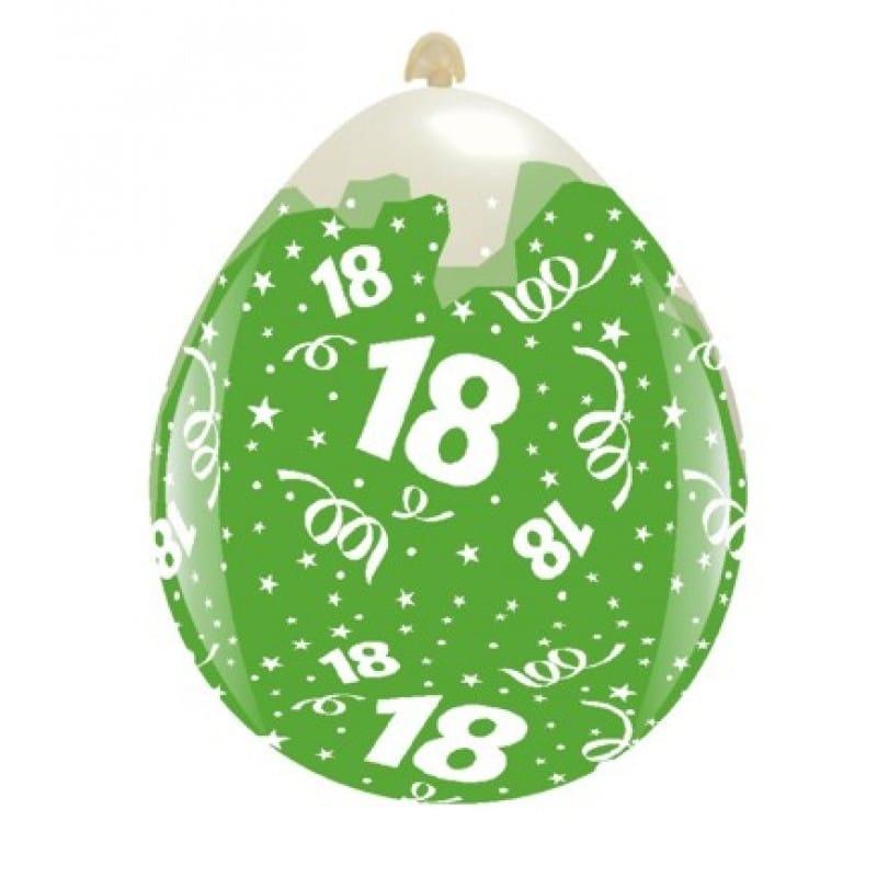 Palloncini compleanno 18° Compleanno