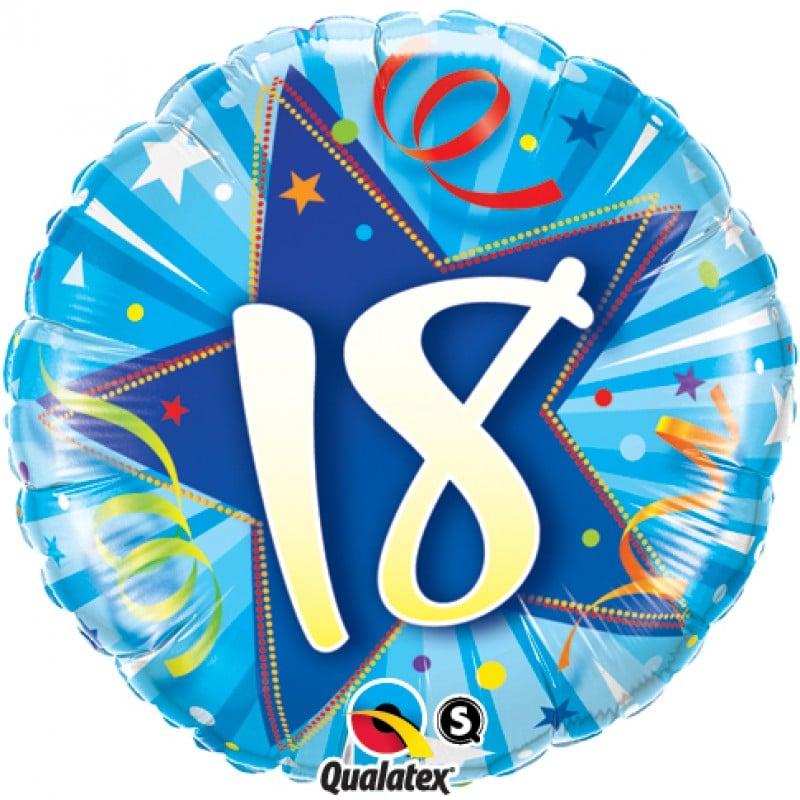 """Palloncini compleanno 18 Compleanno (18"""")"""