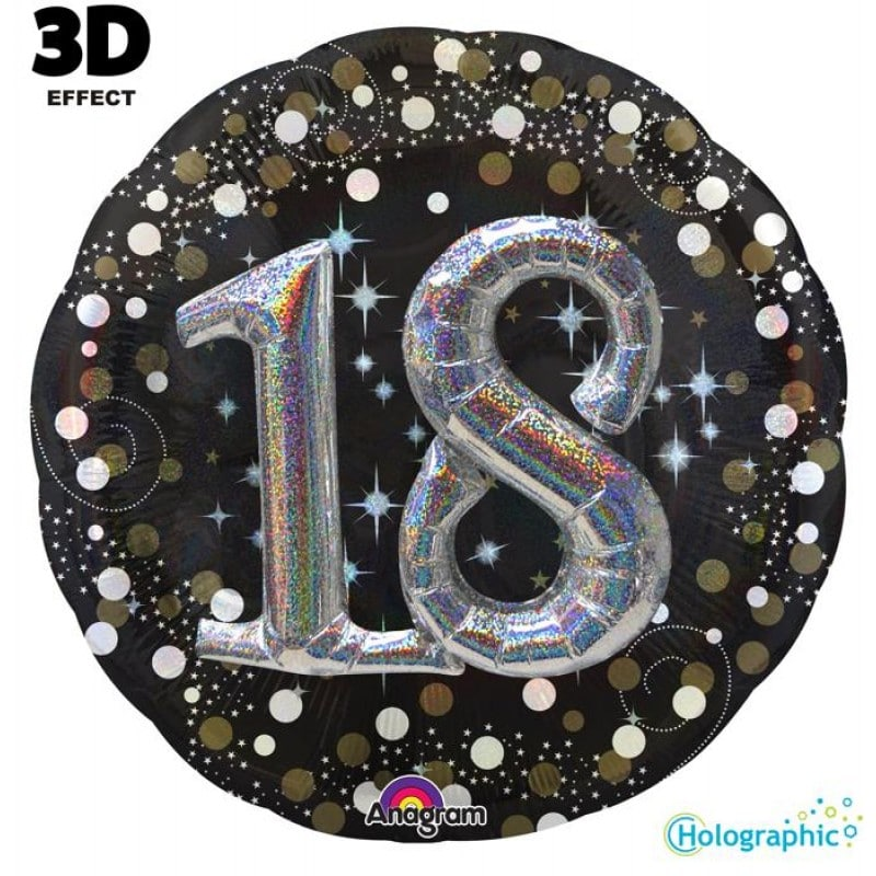"""Palloncini compleanno 18 Compleanno Scintillante Multi-Balloon (32"""")"""
