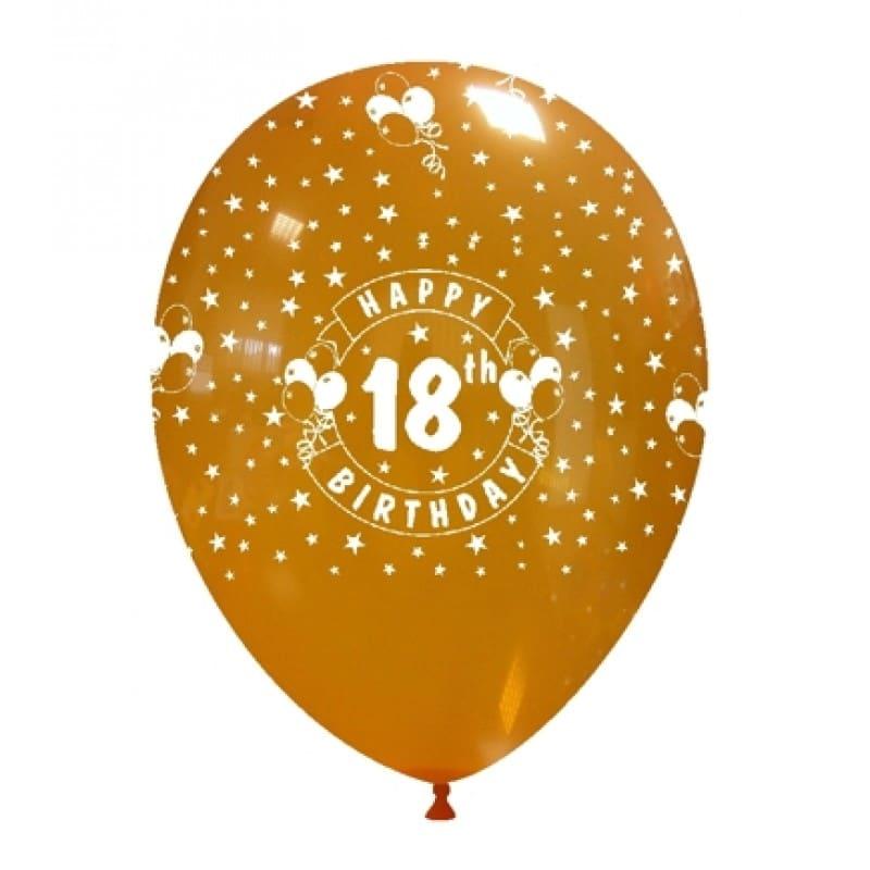 Palloncini compleanno 18th Birthday (globo)