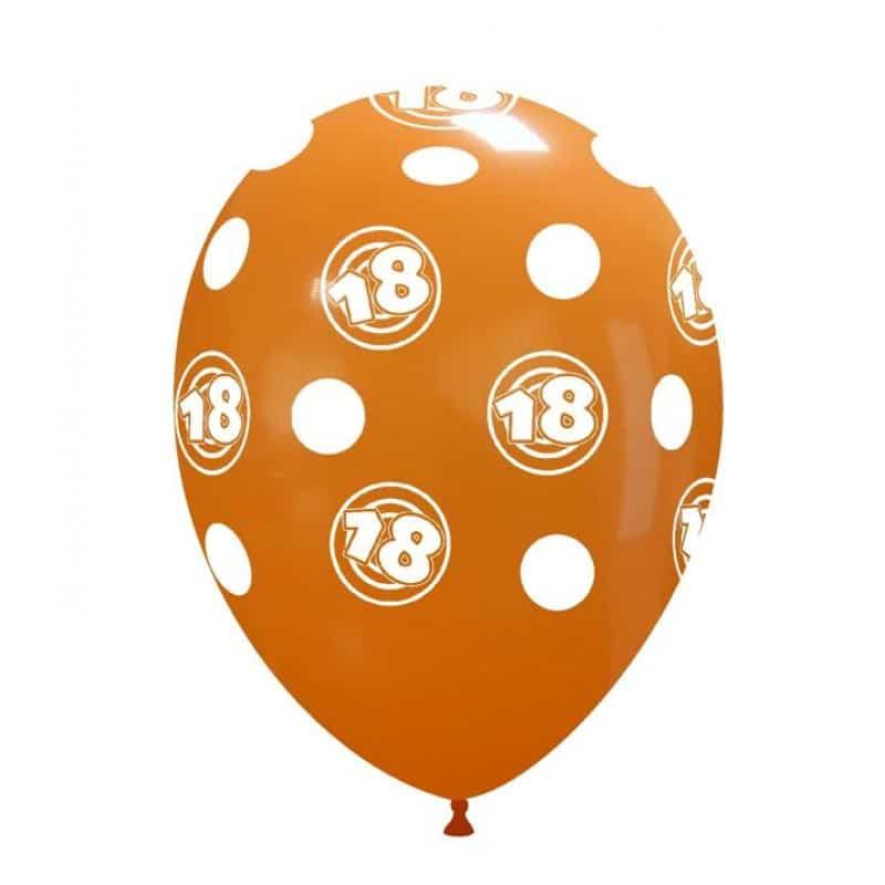 Palloncini compleanno 18th Birthday