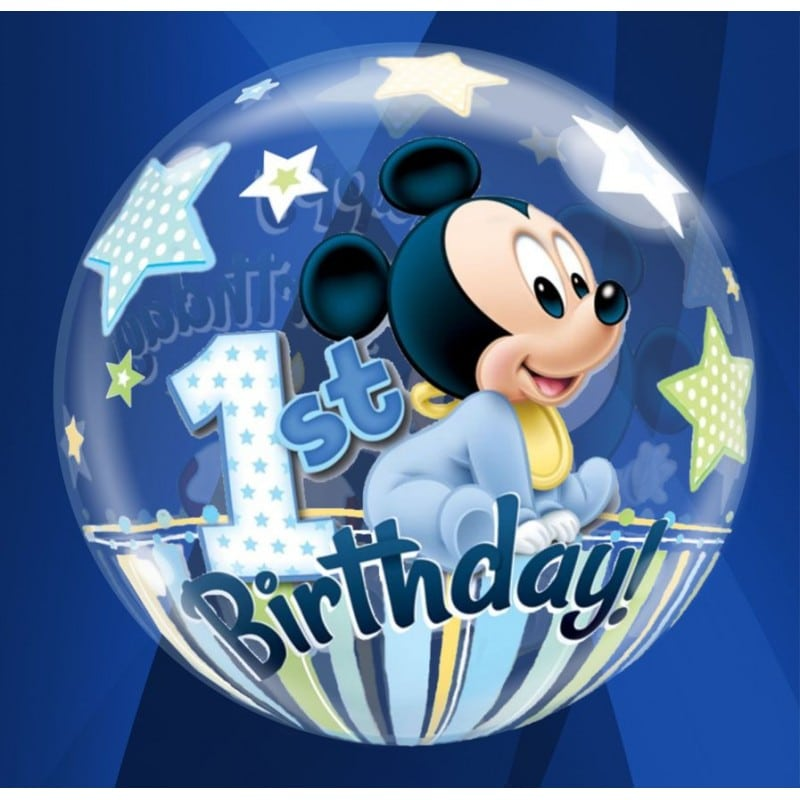 "Palloncini compleanno 1st Birthday Mickey (22"")"