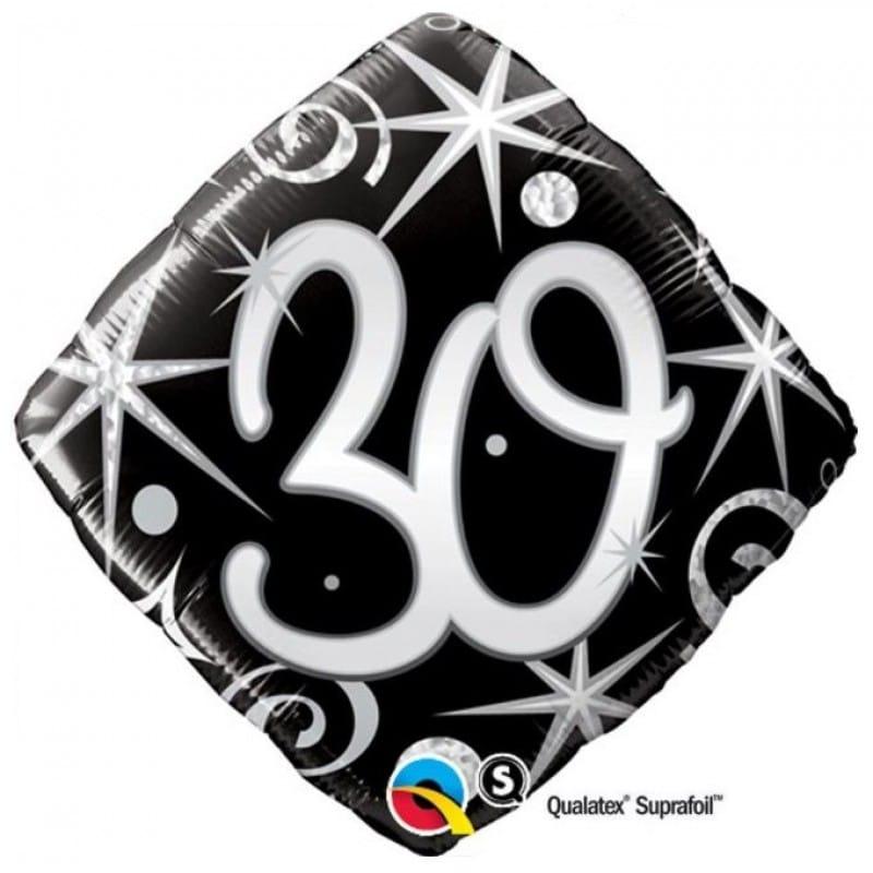 """Palloncini compleanno 30 BIrthday Diamante (18"""")"""