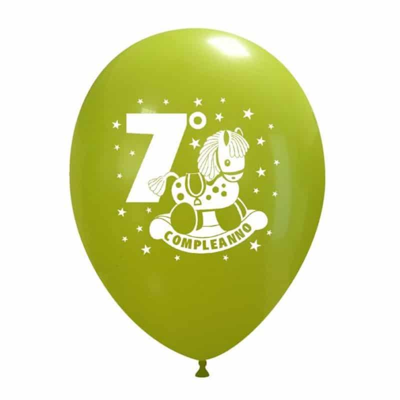 Palloncini compleanno 7° Compleanno Cavaluccio