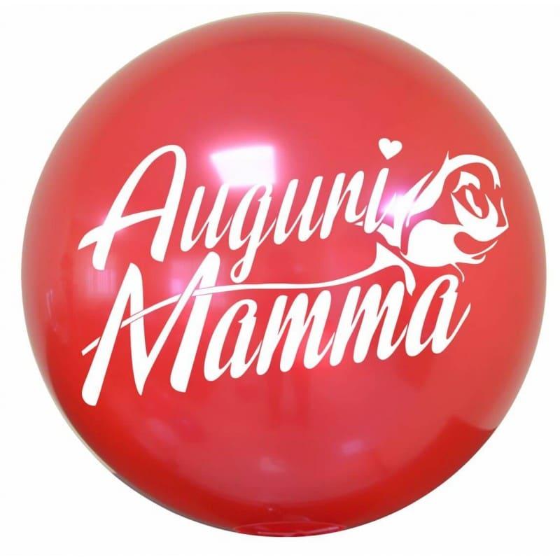 """Palloncini compleanno Bubble Party Chrome - Auguri Mamma (18"""")"""