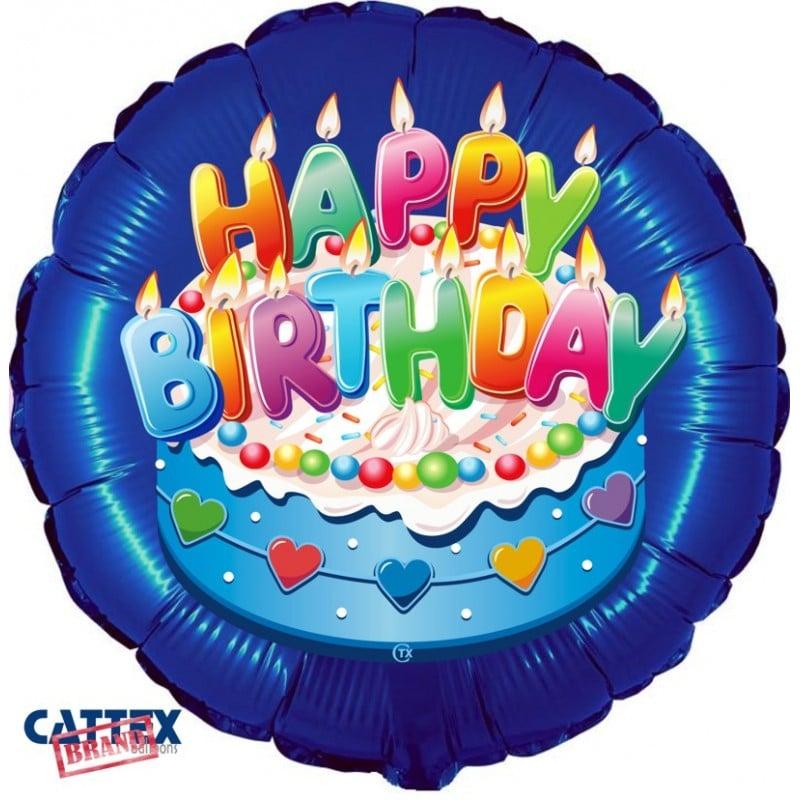 """Palloncini compleanno Buon Compleanno Celeste (18"""")"""