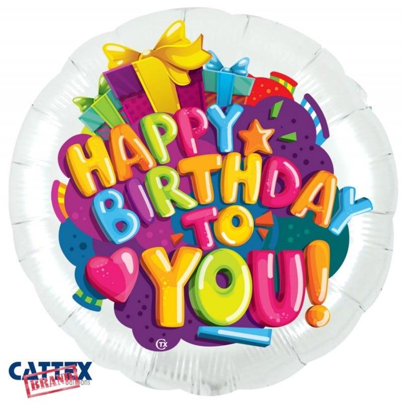 """Palloncini compleanno Buon Compleanno Cuoricino (28"""")"""