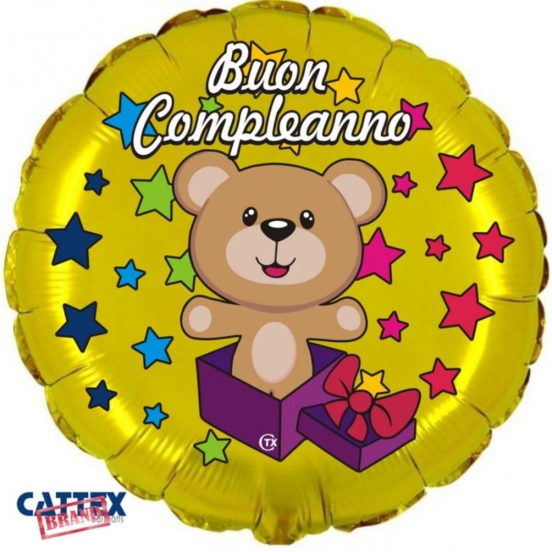 """Palloncini compleanno Buon Compleanno Orsetto (18"""")"""