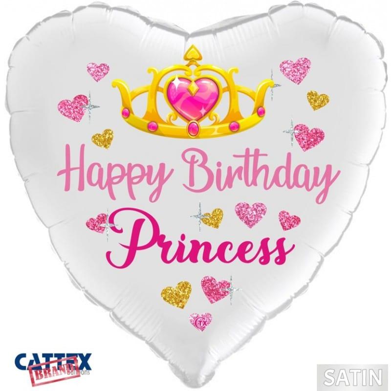 """Palloncini compleanno Buon Compleanno Principessa (18"""")"""