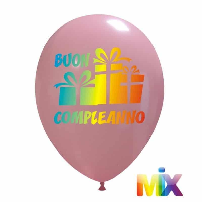 Palloncini compleanno Buon Compleanno Sfumato