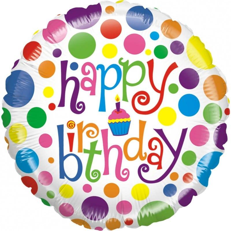 """Palloncini compleanno Compleanno Colorato (21"""")"""