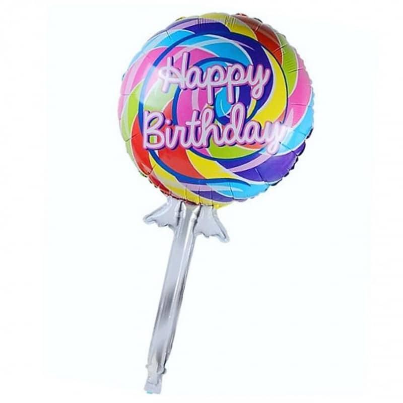 """Palloncini compleanno Happy Birthday Lecca Lecca (42"""")"""