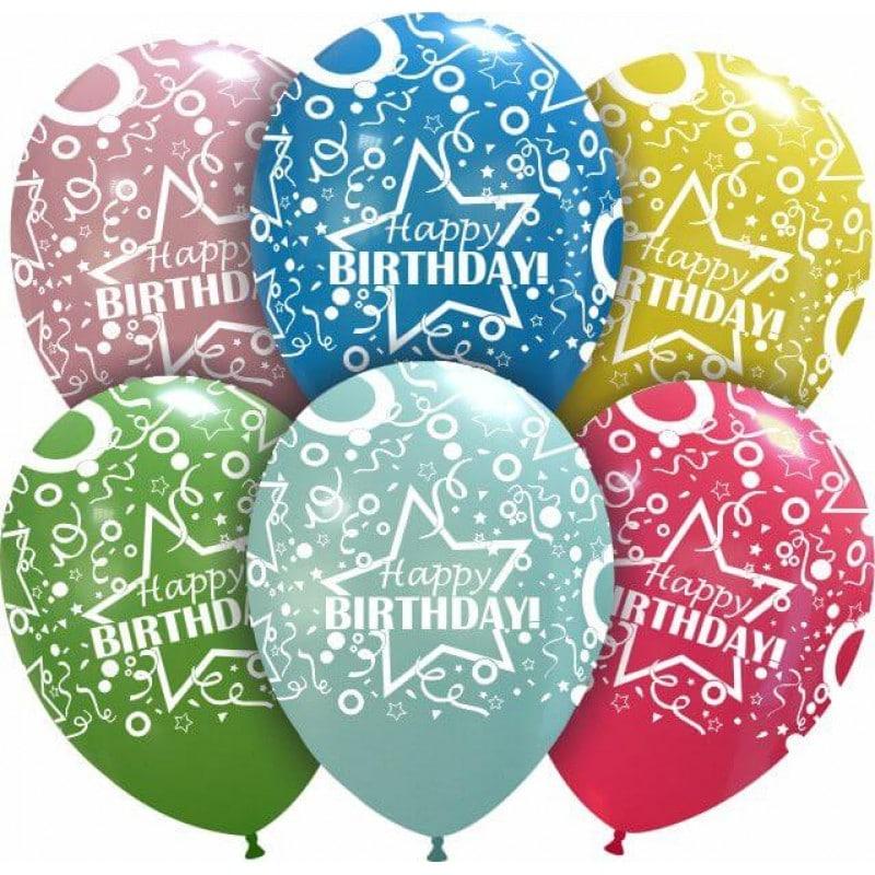 Palloncini compleanno Happy Birthday Matto