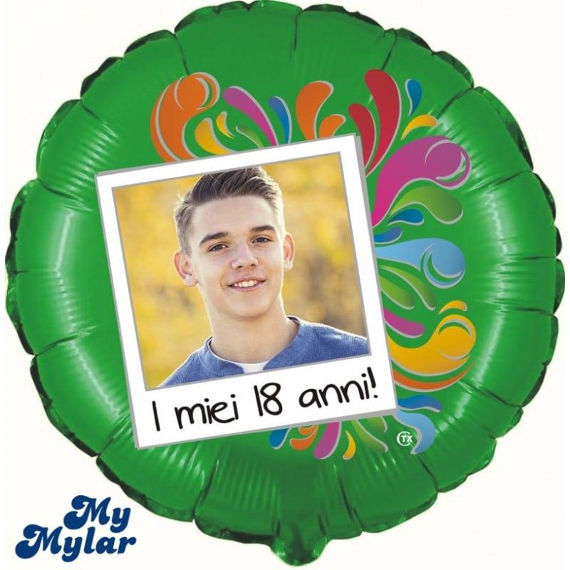 """Palloncini compleanno MyMylar - 18 Anni Foto (18"""")"""