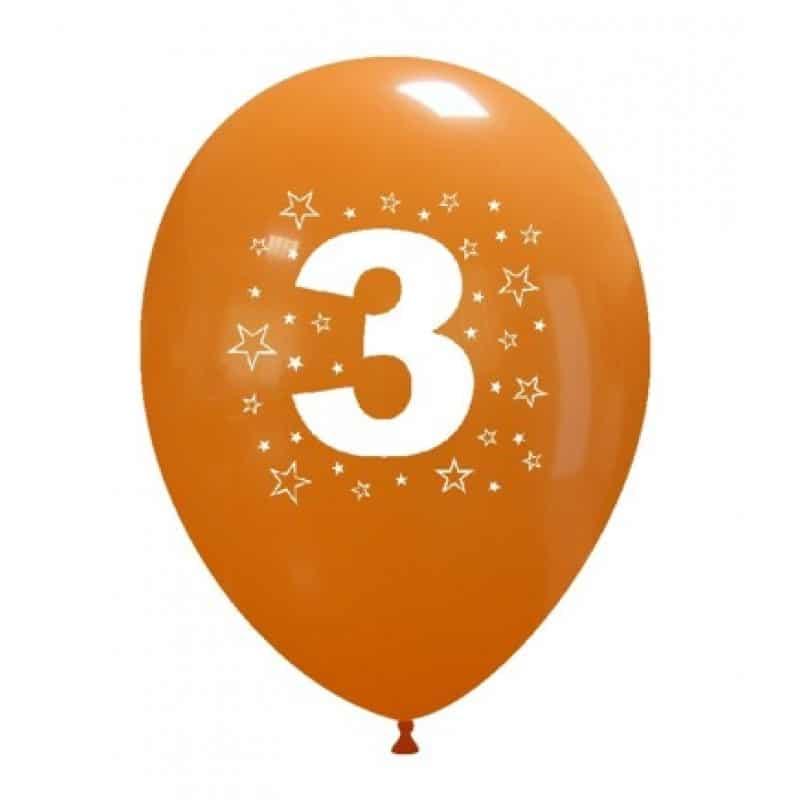 Palloncini compleanno Numeri in saldo