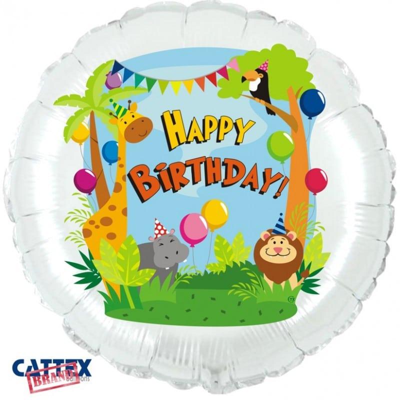 """Palloncini compleanno Party nella Giungla (18"""")"""