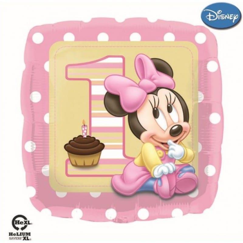 """Palloncini compleanno Primo Compleanno Minnie (18"""")"""