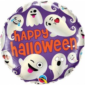 "Palloncini halloween Fantasmi Emoji (18"")"