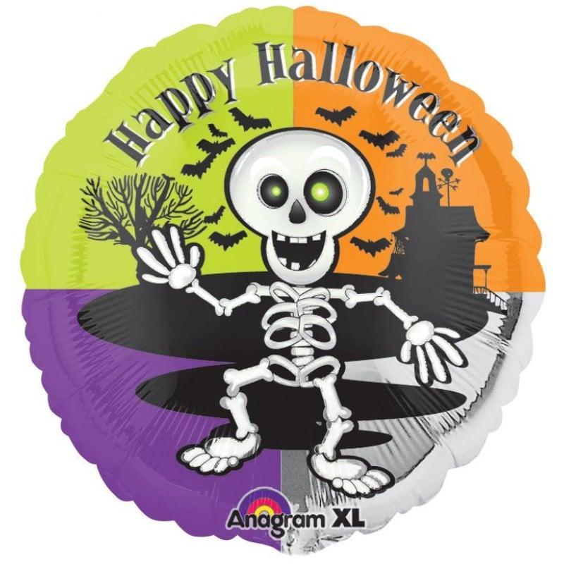 "Palloncini halloween Halloween Scheletro XL® (18"")"