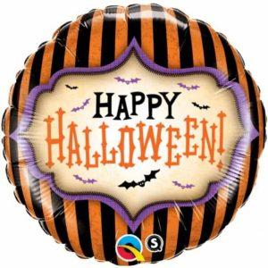 "Palloncini halloween Halloween a Strisce (18"")"