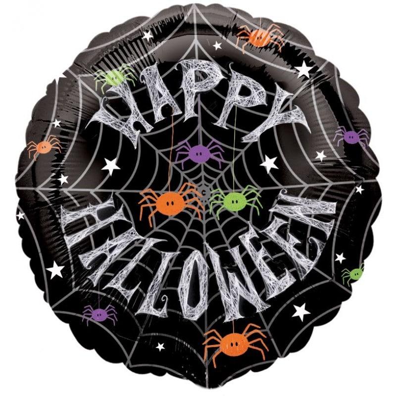 "Palloncini halloween Happy Halloween Ragnatela (18"")"