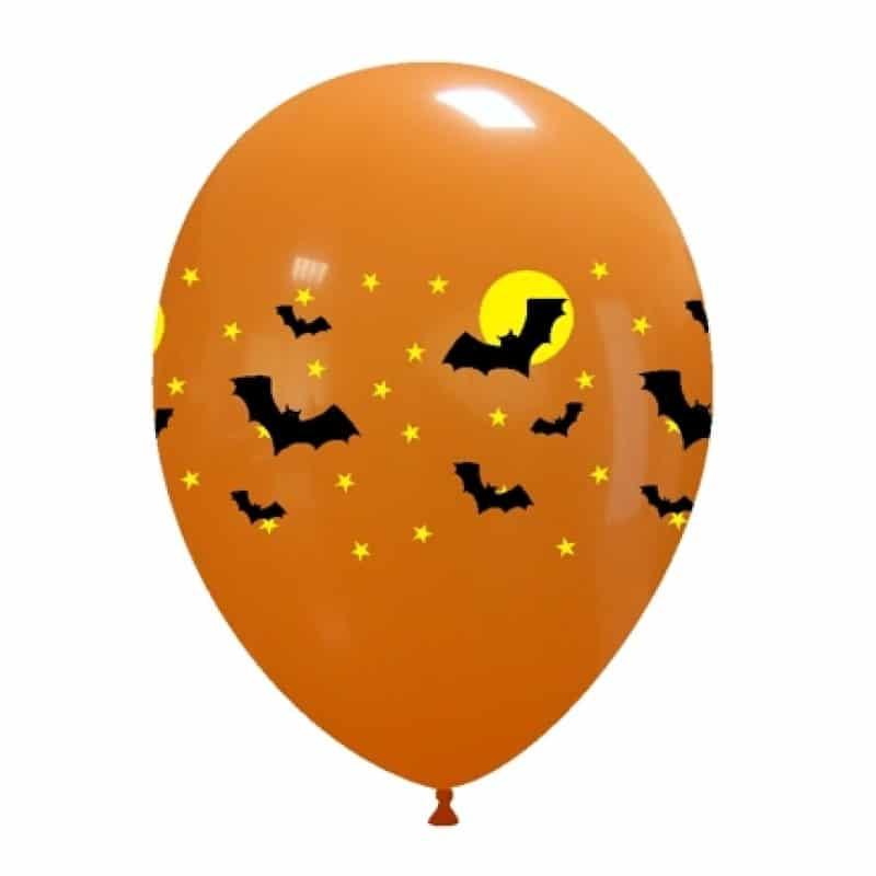 Palloncini halloween Pipistrelli 2 Colori